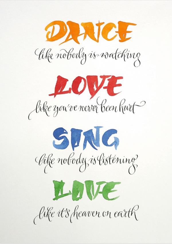 Dance Love Sing Love